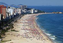 La spiaggia di Ipanema, Rio de Janeiro