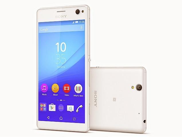 Caratteristiche smartphone Sony Xperia C4