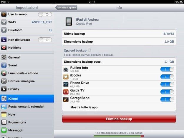 Come liberare spazio sulla memoria iPhone