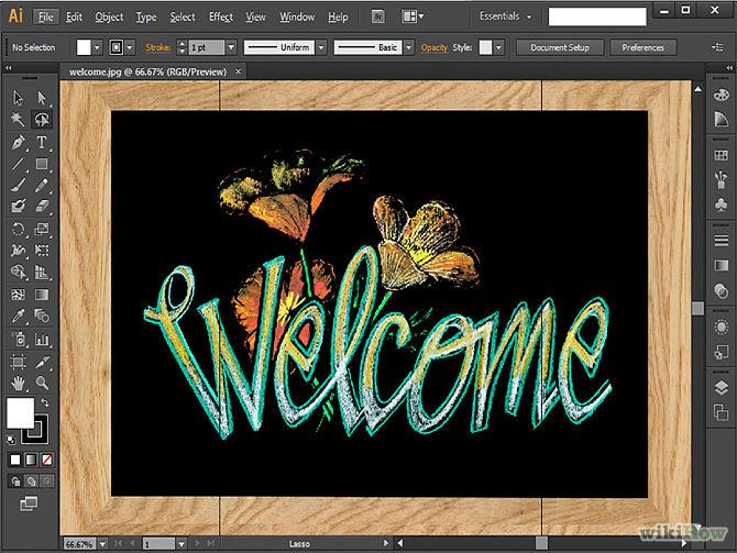 Come si usa Adobe Illustrator