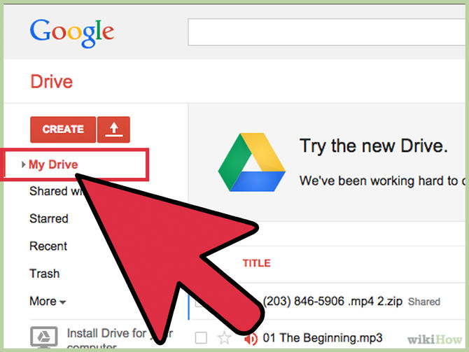 how to clear back up files google drive