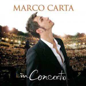 Marco Carta in concerto a Roma.