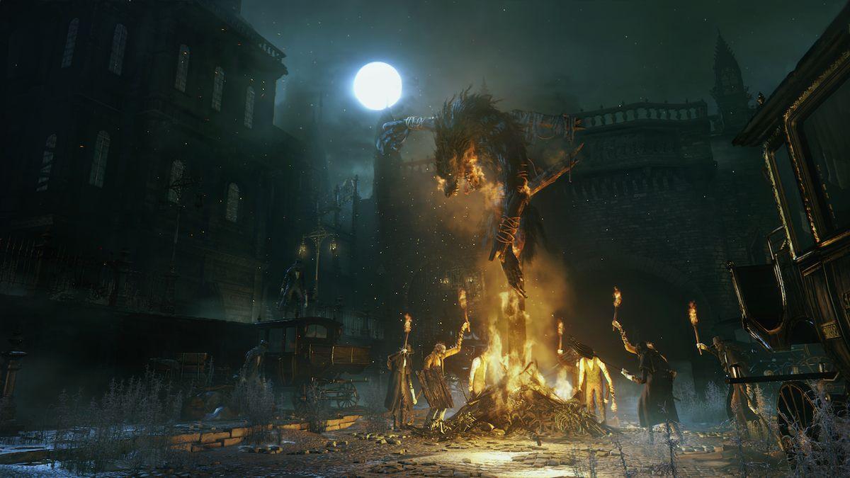 Bloodborne burning 1080