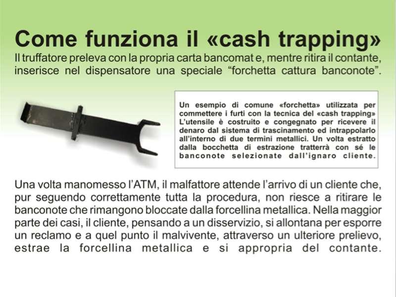 Come funziona cash trapping