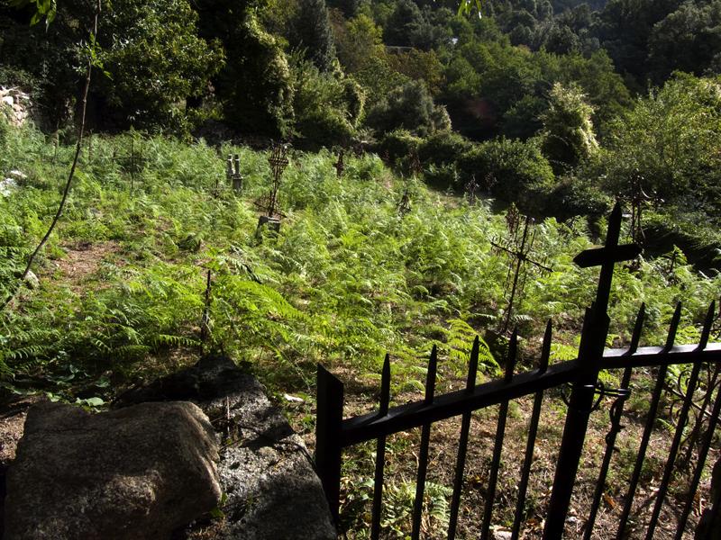 Colombara: il cimitero abbandonato