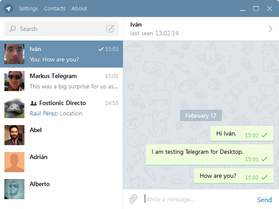 Come creare chat nascosta con Telegram