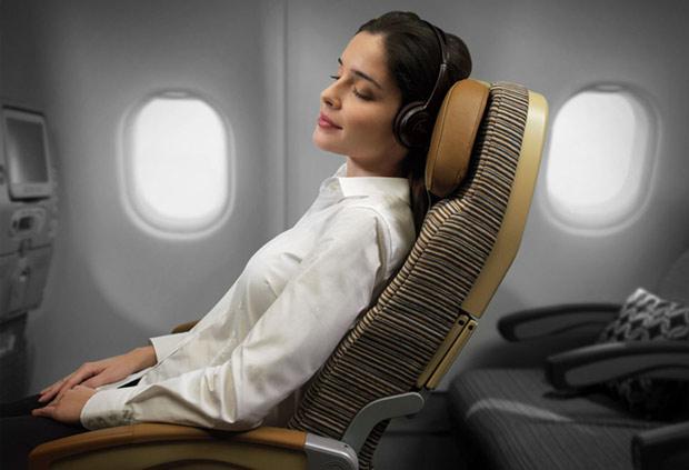 Come dormire in aereo