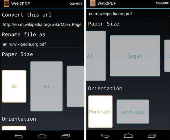 Come salvare una pagina Web con Android
