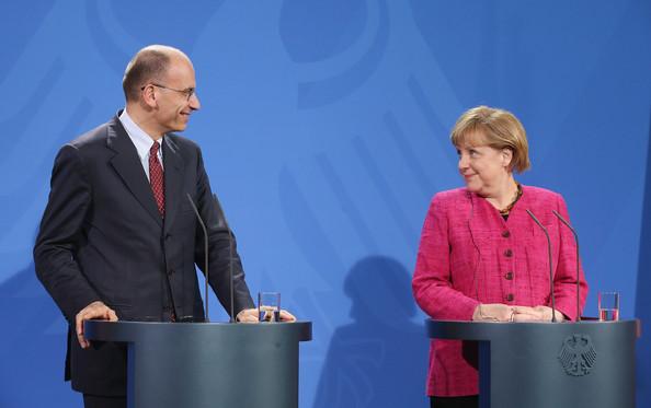 Letta si congratula con Angela Merkel per risultati elezioni in Germania
