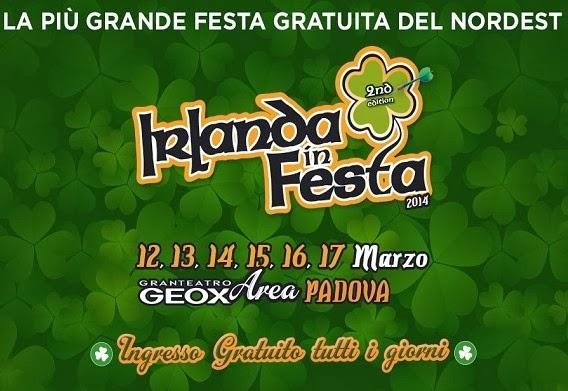 Eventi San Patrizio 2016 a Padova