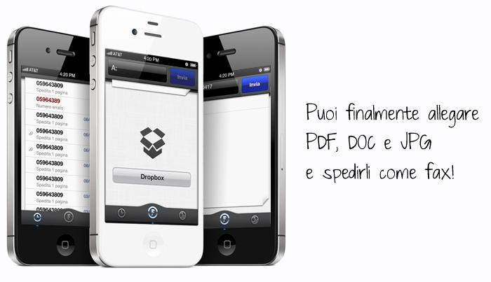 Come inviare Fax da iPhone