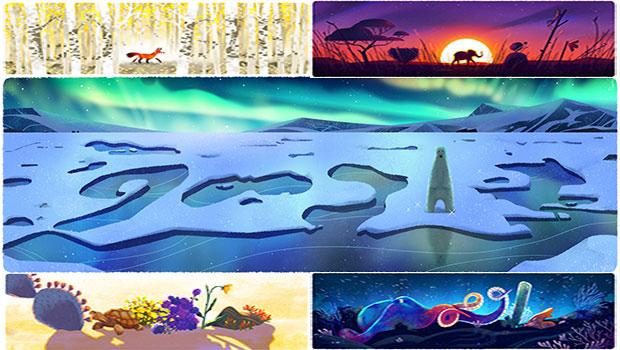 Giornata della Terra, i doodle di Google