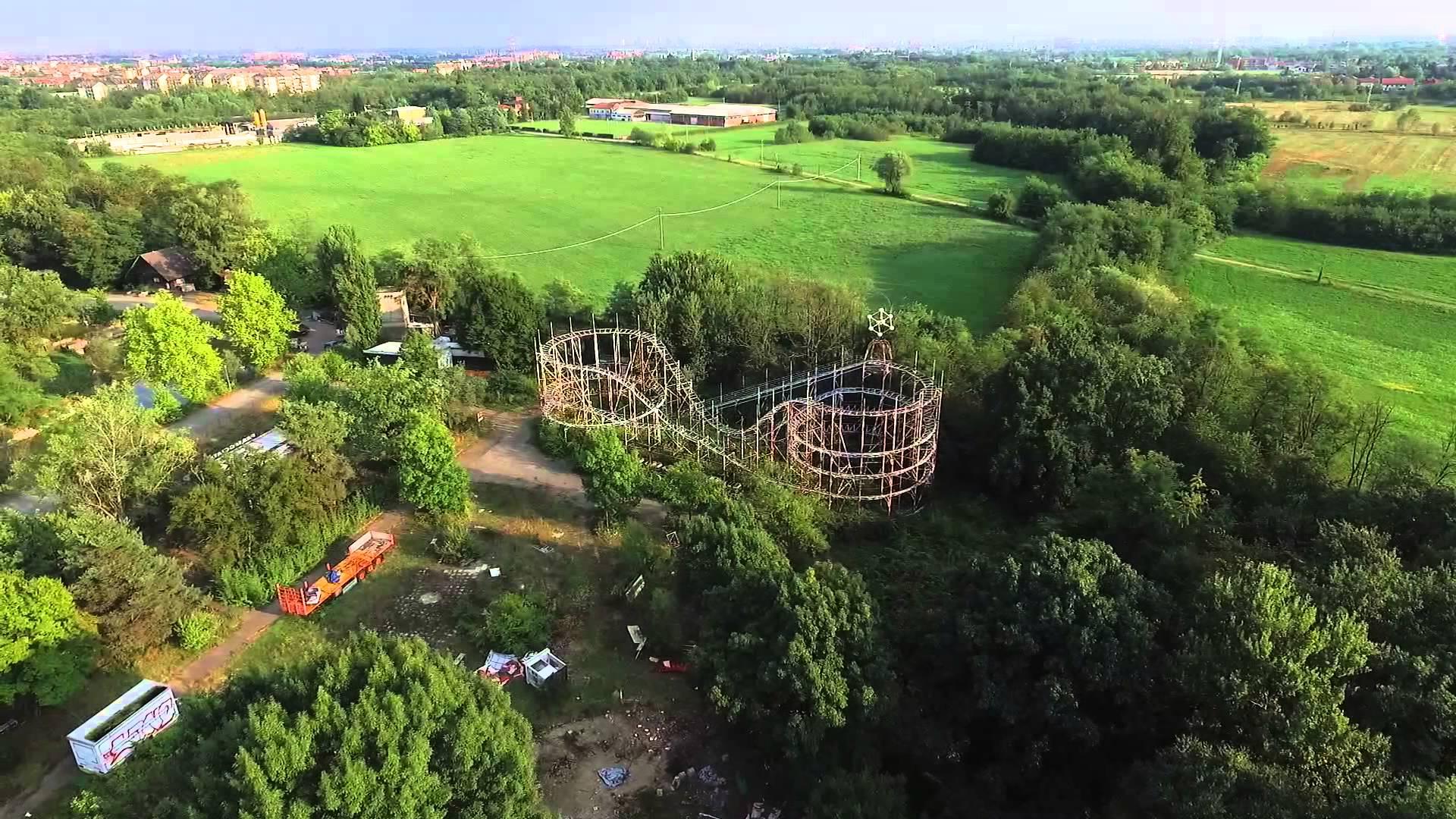 Green Land, il Luna Park abbandonato