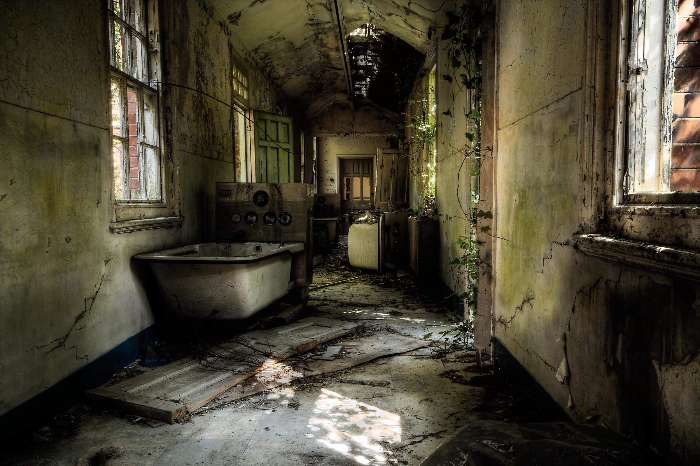 Hellingly Hospital - L'ospedale Psichiatrico fantasma, Inghilterra