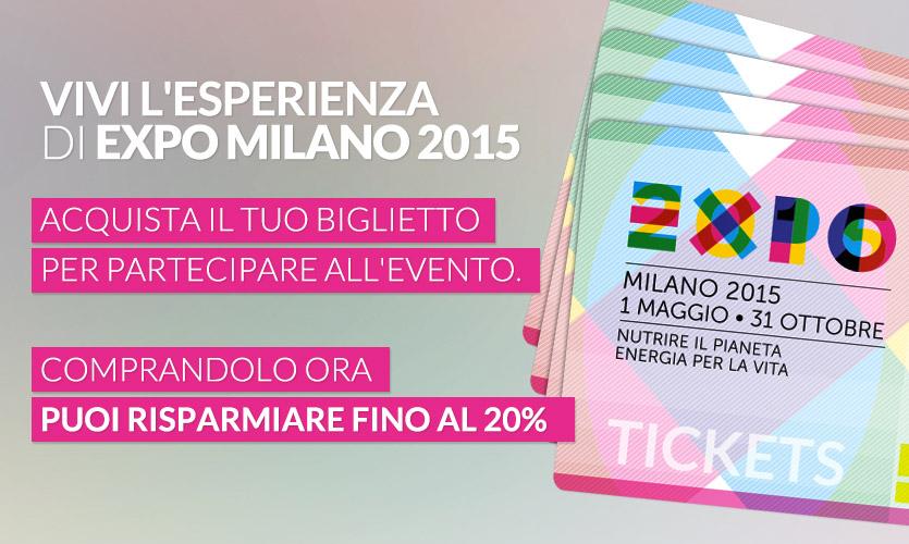 Requisiti per biglietti agevolati Expo Milano 2015