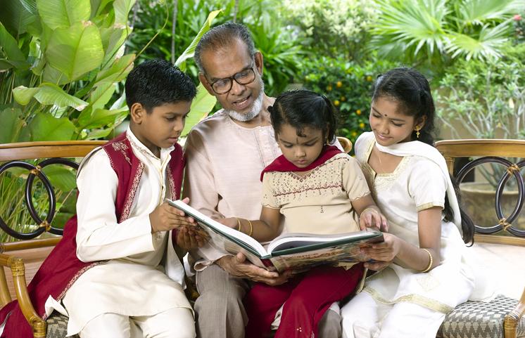 I valori della famiglia indiana