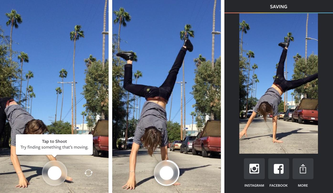 Instagram Boomerang 1.0 for iOS iPhone screenshot 001