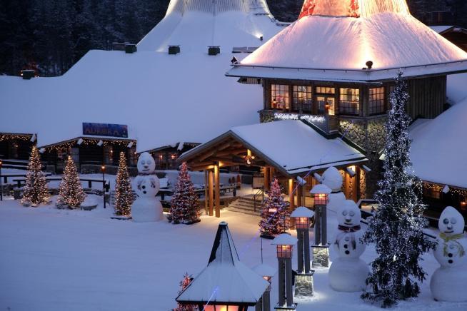 Dove E La Casa Di Babbo Natale.Dove Si Trova La Lapponia Casa Di Babbo Natale Notizie It