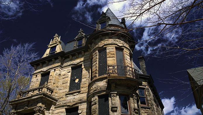 La storia del castello di Franklin, tra morti sospette e fantasmi
