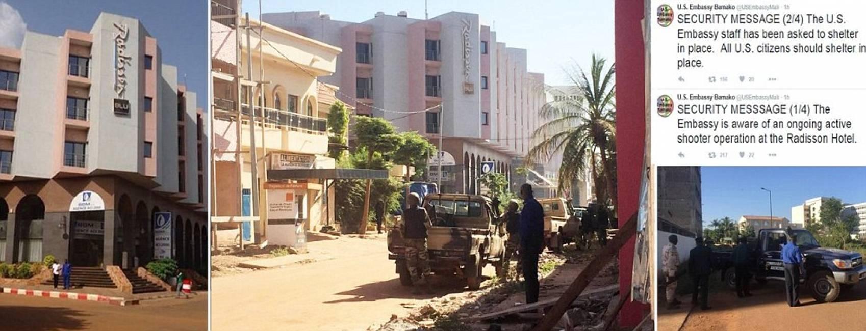 Mali, attacco al Radisson