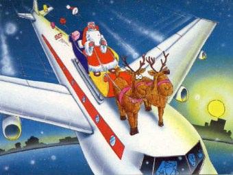 Voli aerei per Natale