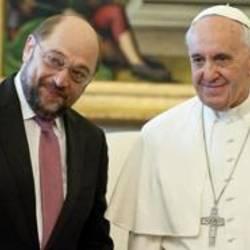 Cosa ha detto Papa Bergoglio a Martin Schulz