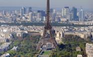 Paris   Eiffelturm und Marsfeld2