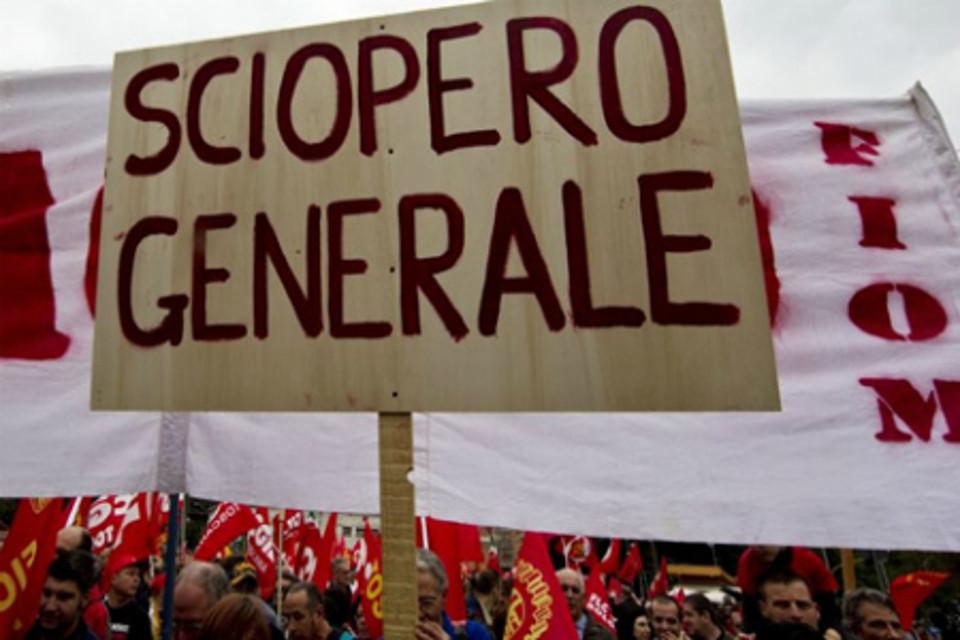 Orario sciopero 20 novembre 2015 categorie del personale pubblico