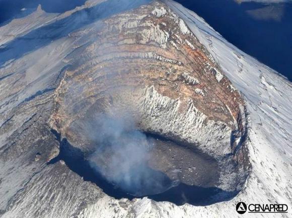 Avvistamenti Ufo sul vulcano Popocatepetl in Messico