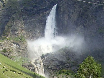 Le cascate più alte d'Italia