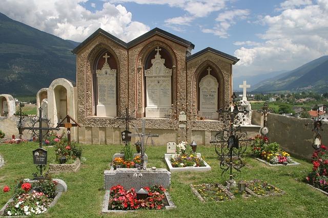 Sognare un cimitero, cosa significa