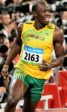 La carriera di Usain Bolt