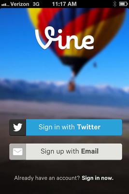 Come usare Vine per condividere video su Twitter