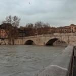Maltempo: prevista piena del Tevere a Roma