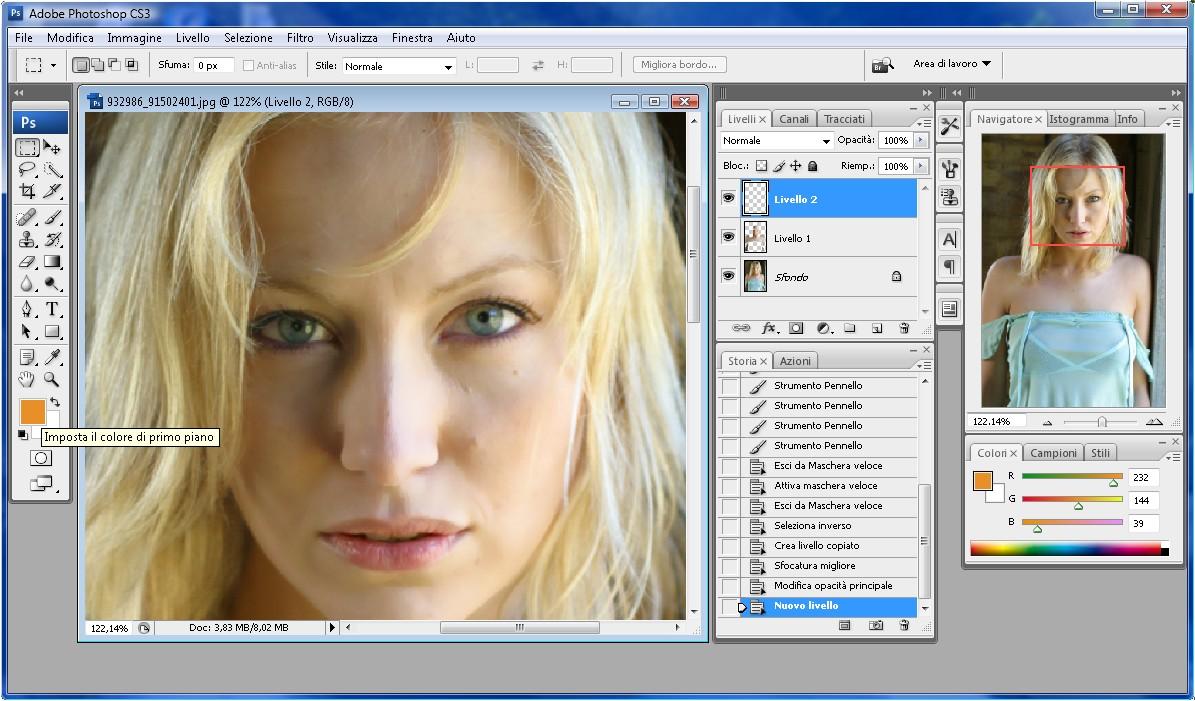 Come fare effetti con Photoshop