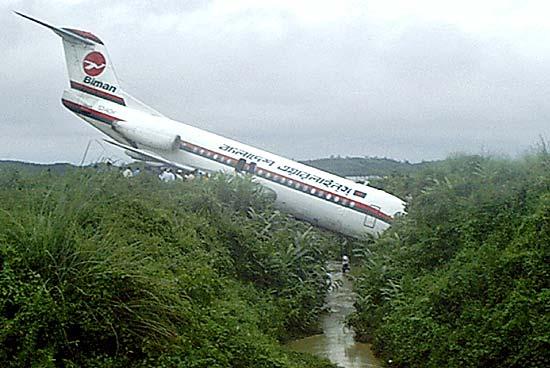 Le principali cause degli incidenti aerei