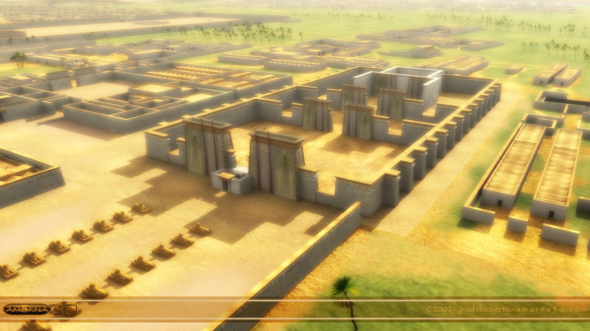 Akhetaten: la città del sole