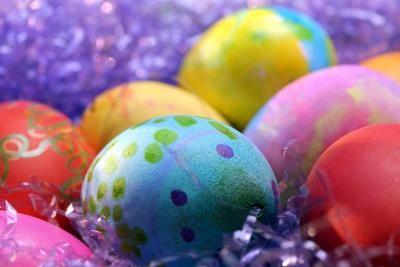 Come decorare le Uova di Pasqua senza coloranti