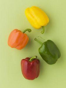 Come tagliare i peperoni in spicchi