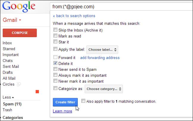 Come organizzare la posta in arrivo su Gmail