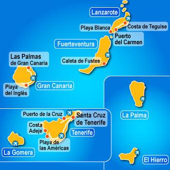 Come prenotare una vacanza alle Canarie