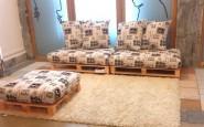 Come costruire un divano con pallet