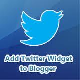 Come aggiungere un widget Twitter a Blogger