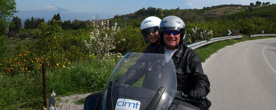 Vacanze in moto in Sicilia