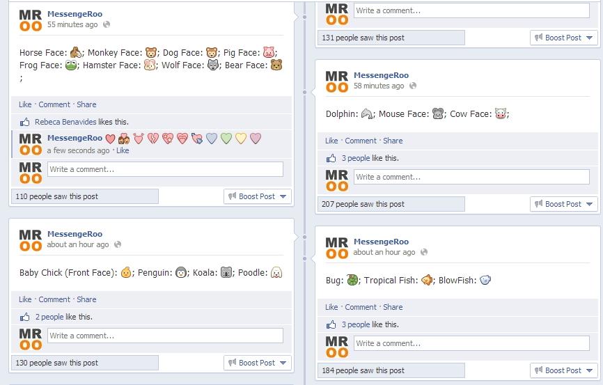 Fb hand emoticons