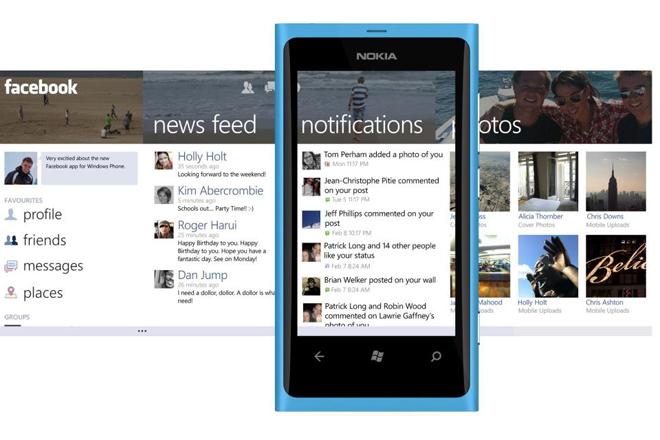 Caratteristiche App Phone Facebook