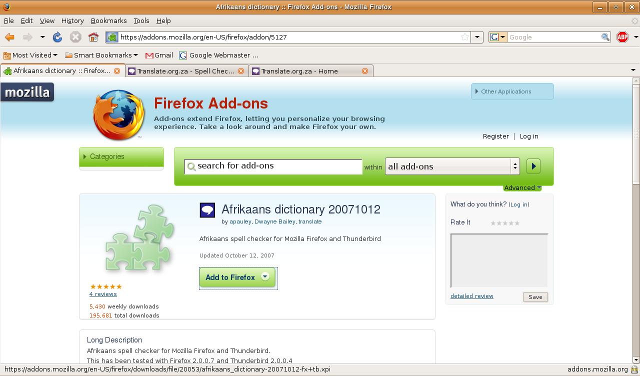 Top 5 Firefox componenti aggiuntivi Add-On