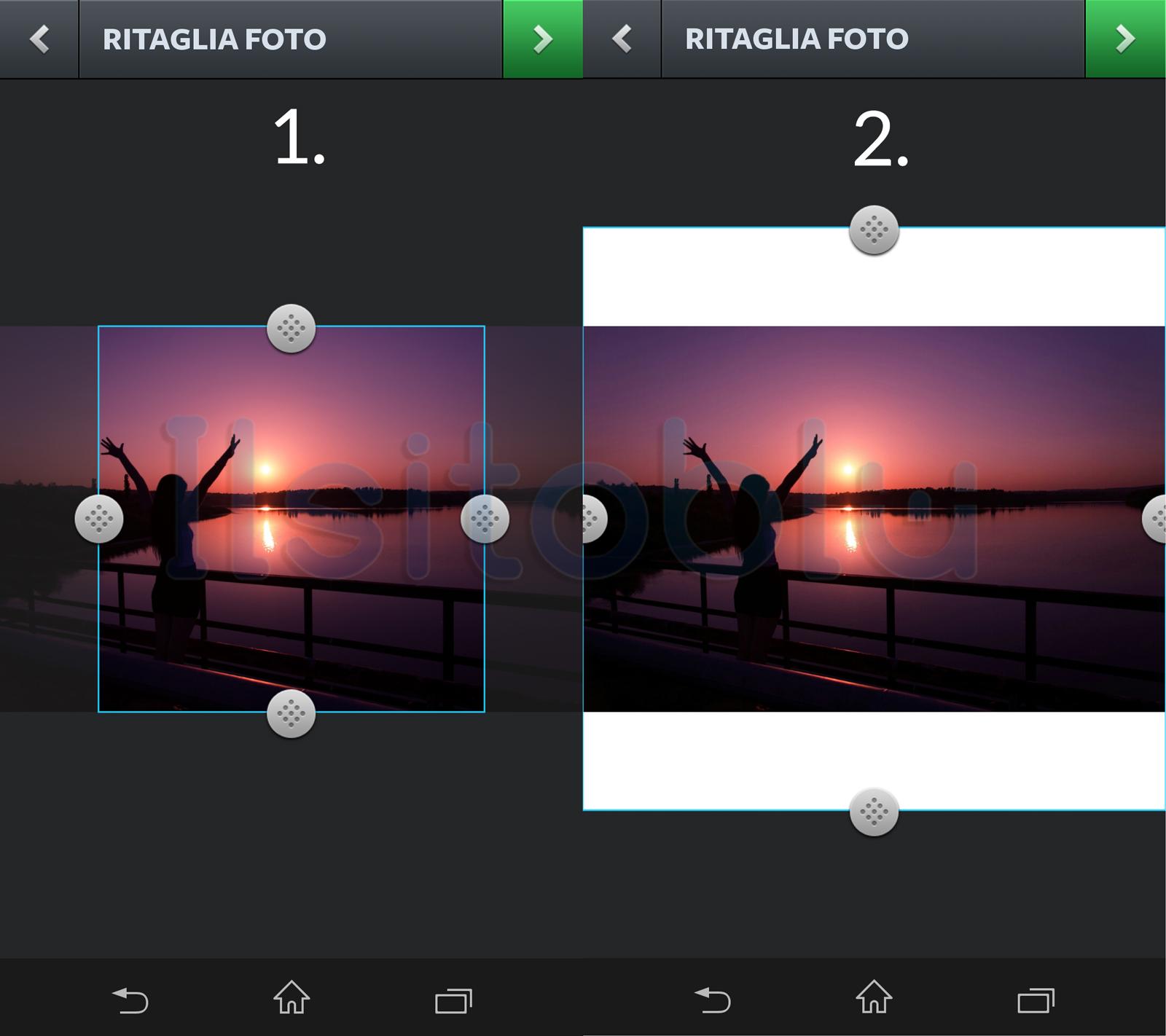 foto panorama instagram
