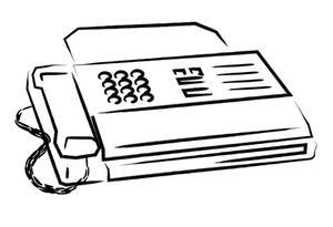 Come spedire un fax in India