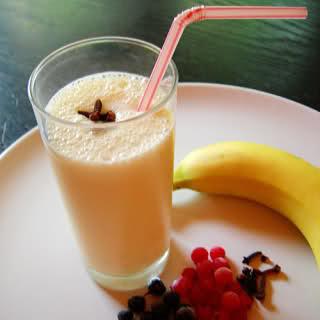 Come fare un frullato di crema di banana